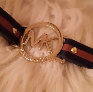 New Michael Kors Leather Wrap Bracelet!